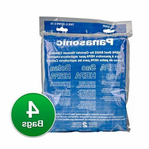 type c 19 replacement hepa vacuum bag