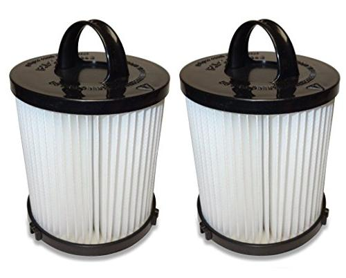 2 Pack Upright Vacuum Dust Cup Pre-Filters for EUREKA DCF21