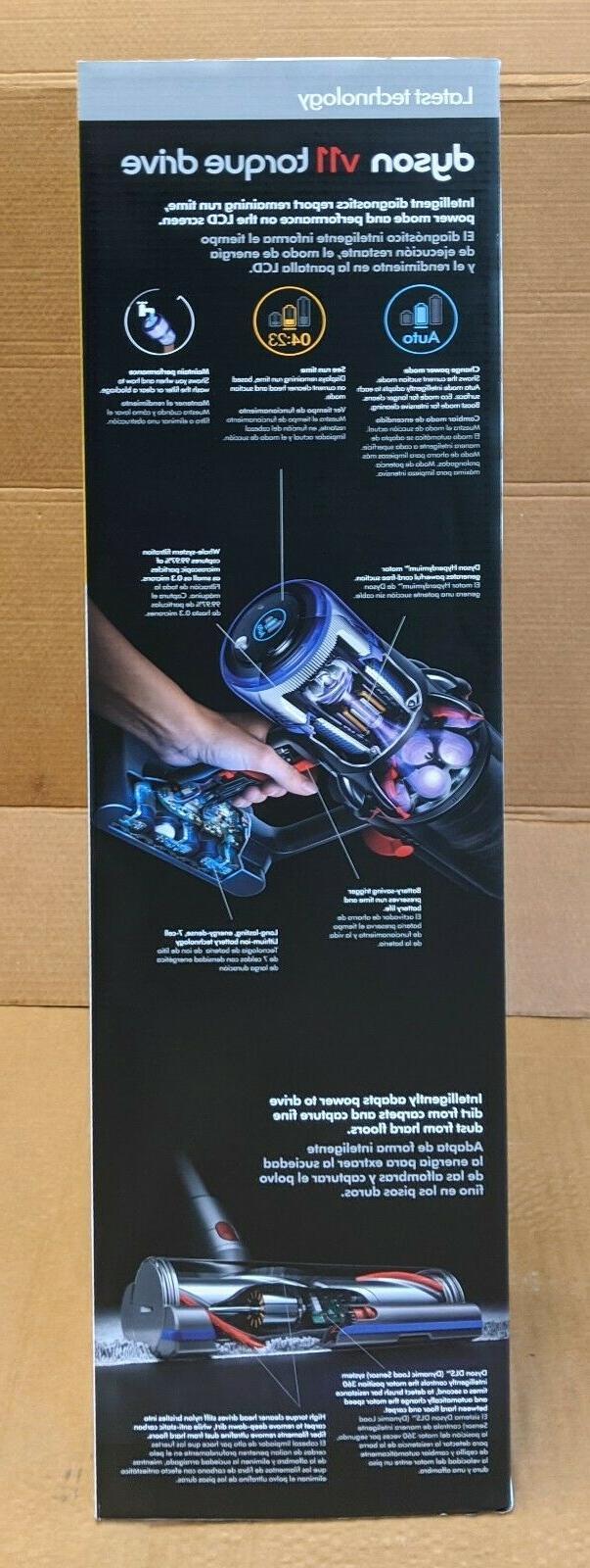 Dyson Torque Drive Cordless Vacuum   Blue Click-in