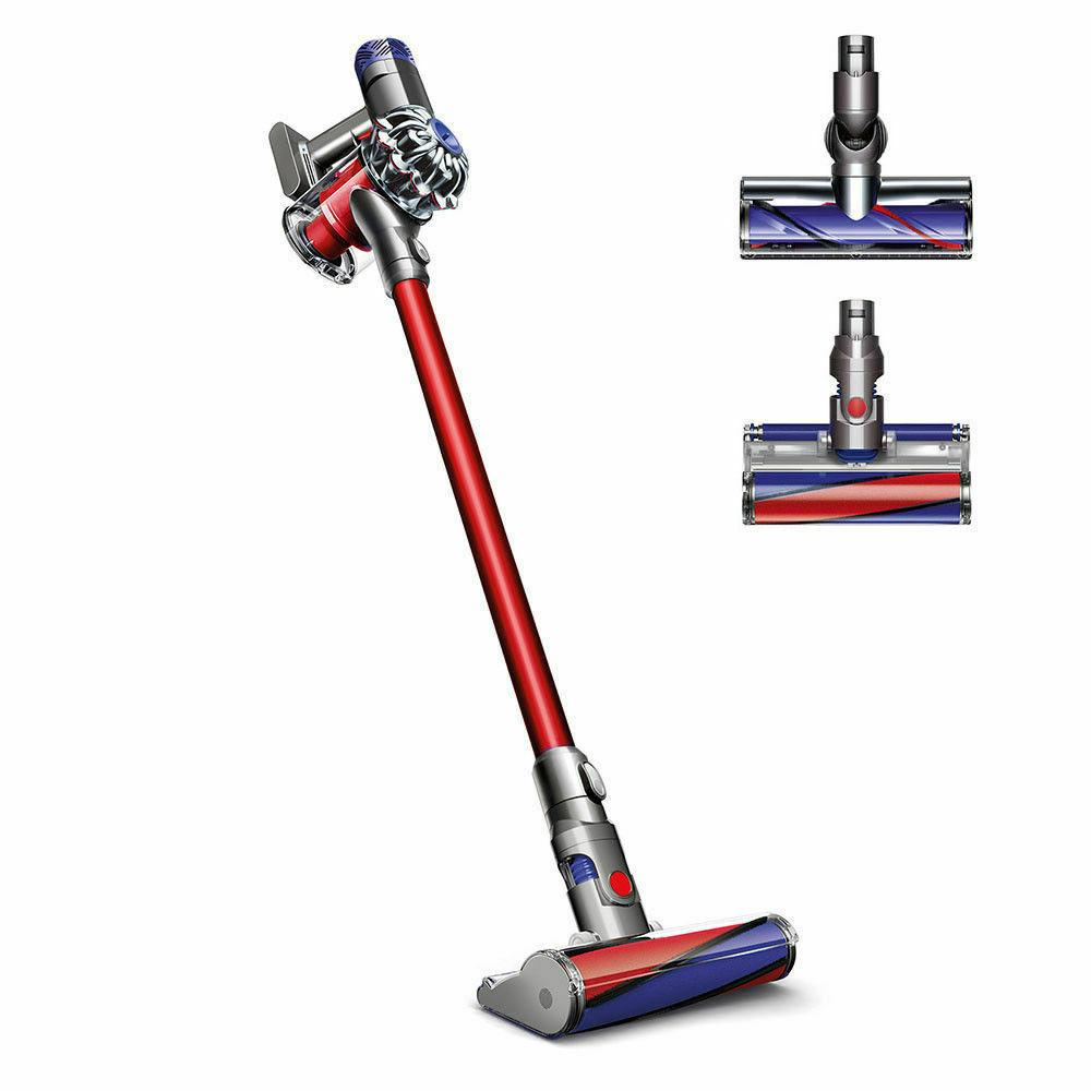 v6 absolute hepa cordless vacuum red new
