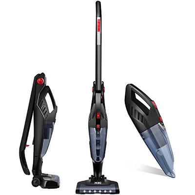 Deik Vacuum Cleaner, 2 in 1 Cordless Vacuum Cleaner, High-po