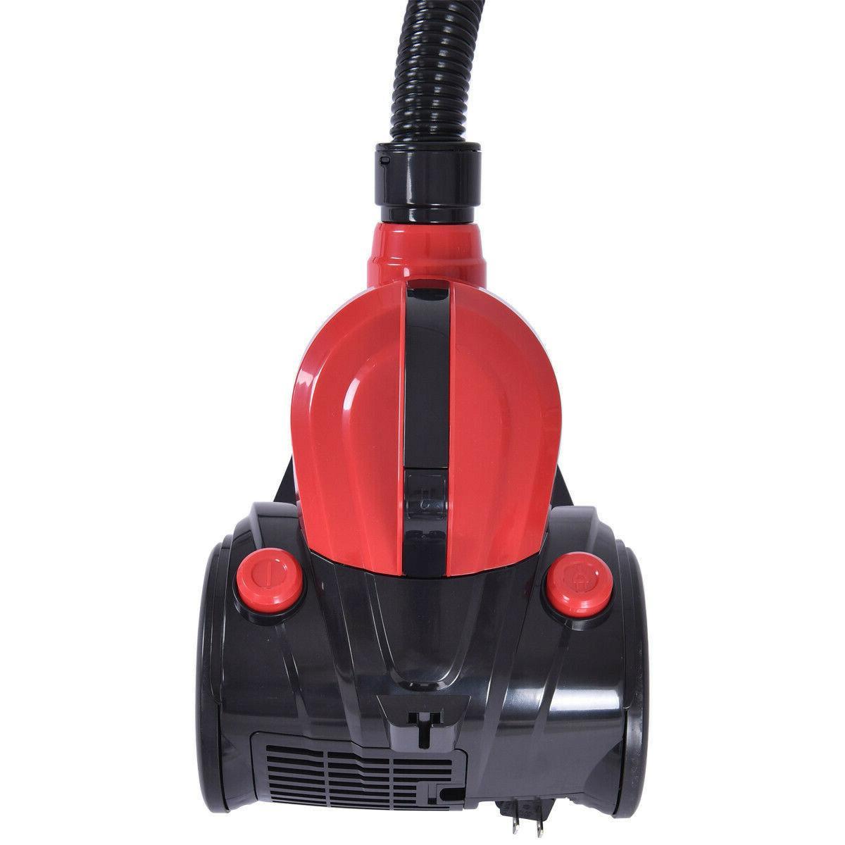 Vacuum Canister Bagless Rewind Carpet Floor w