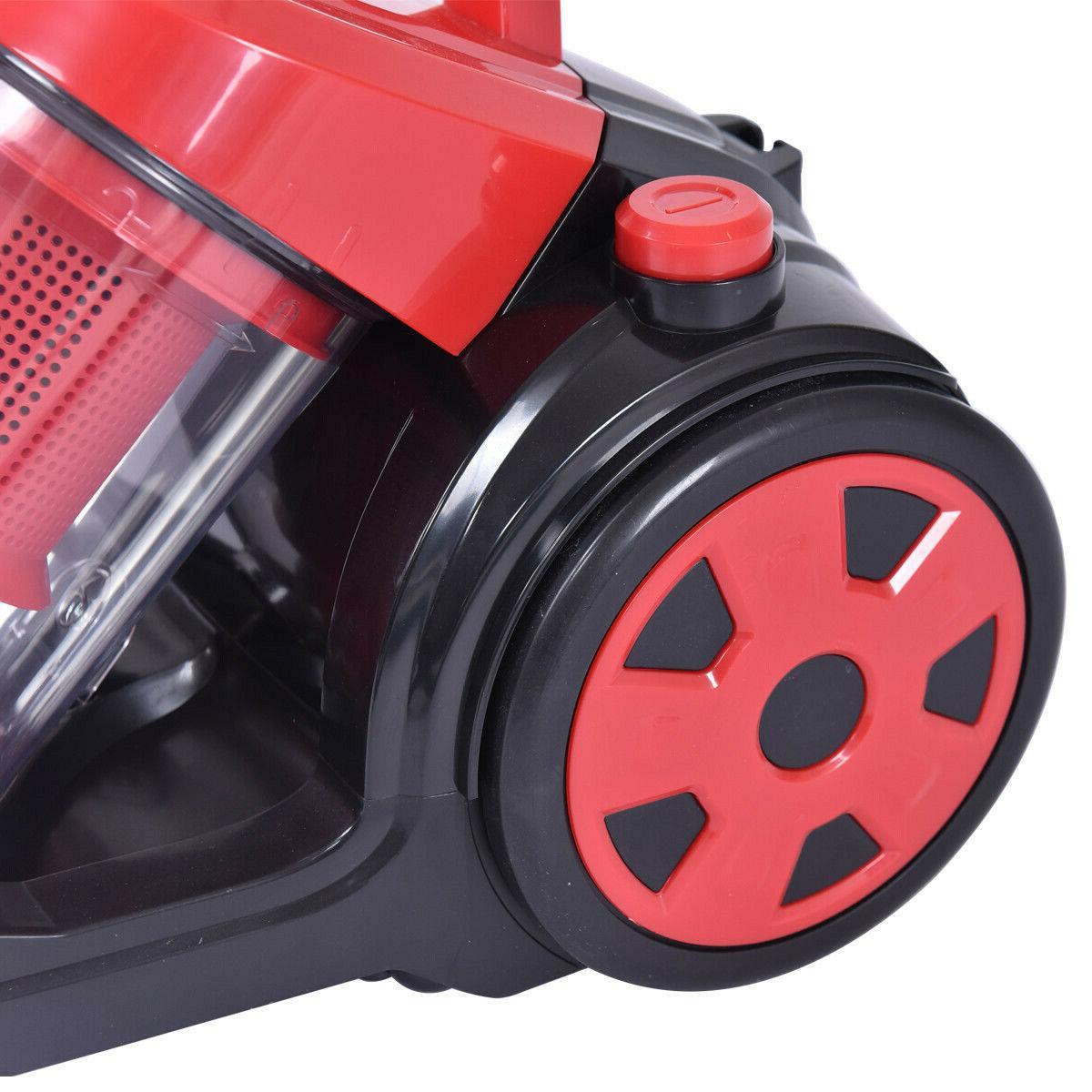 Vacuum Cleaner Bagless Rewind Floor HEPA