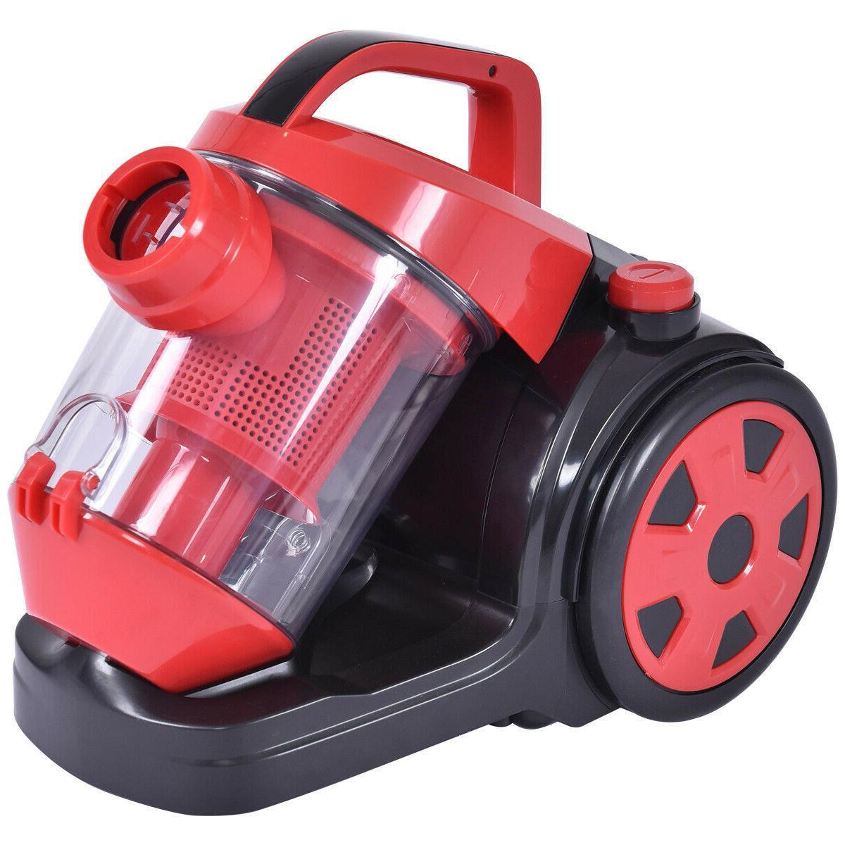 Vacuum Cleaner Bagless Rewind Carpet Hard Floor w HEPA Filtration