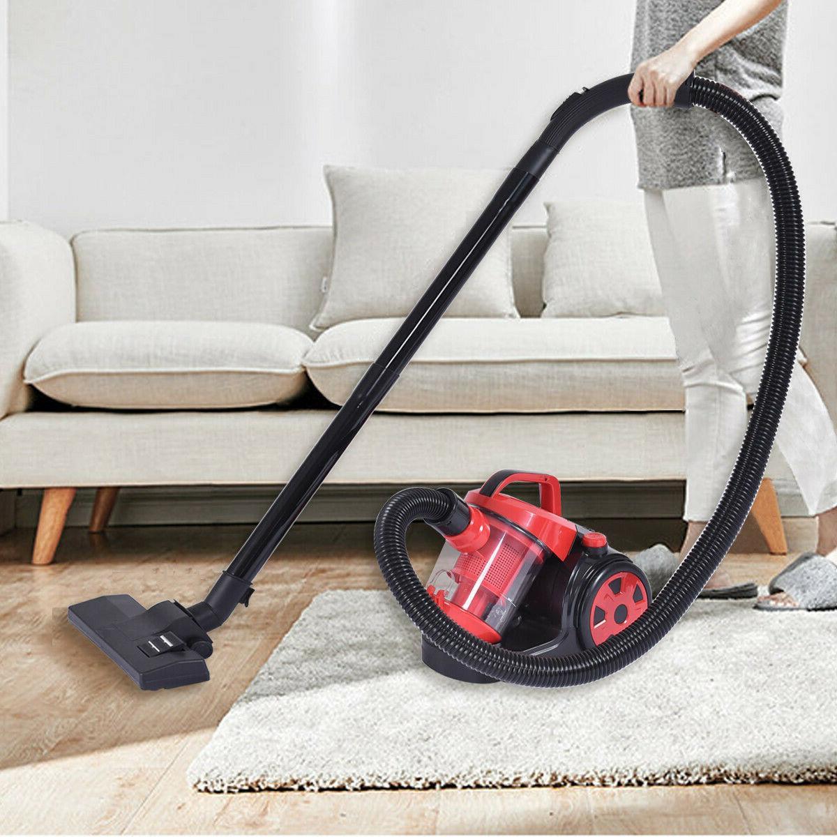 vacuum cleaner canister cord bagless rewind carpet