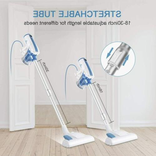 MOOSOO Vacuum 17KPa in Hard Floor