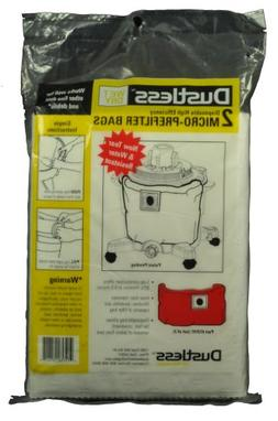 Loveless Ash DryWall Shop Vac Vacuum Cleaner Bags