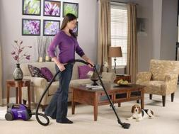 Eureka Mighty Mite Canister Vacuum Cleaner Bagged Pet Attach