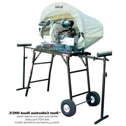 Vacuum System Dust Collection Hood Miter Table Saw Accessory