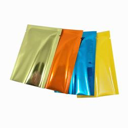 Mylar Heat Seal Vacuum Aluminum Foil Bags Smell Proof Glossy