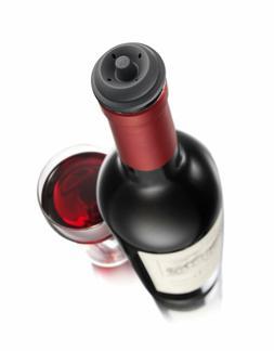 New Wine Saver Vacu Vin Stopper Vacuum Bottle Preserve Set o