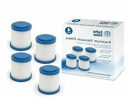 Fette Filter - Pleated Vacuum Filter Compatible with Black +