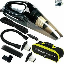 Powerful Car Vacuum Cleaner, Portable Wet&Dry Handheld stron