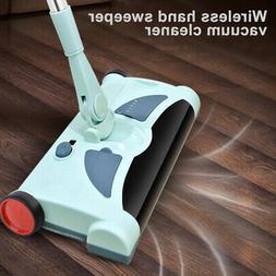 Quiet Electrostatic Carpet Floor Sweeper Light weight Cleani