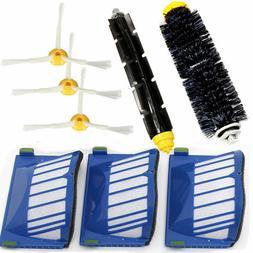 Replacement Part Filter Brush Kit For iRobot Roomba 620 630