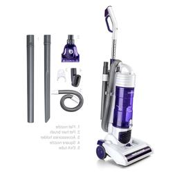 PUPPYOO S7 Bagless Upright Vacuum Cleaner Cyclonic Lightweig