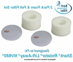 Best Vacuum Filter 2 Pack Compatible with Shark Rotator Lift