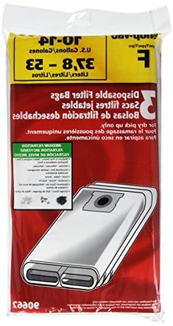 Shop Vac 906-62-33 10 To 14 Gallon Disposable Filter Bags 3