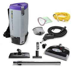 ProTeam New Super Coach Pro 10 QT Vacuum Cleaner with Power