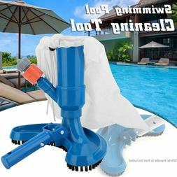 Swimming Pool Vacuum Cleaner Cleaning Tool Head Fountain Vac