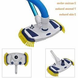 Swimming Pool Vacuum Head Cleaner Brush Above Ground Sweeper