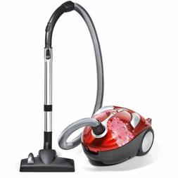 Dirt Devil Tattoo Bagged Canister Vacuum, SD30040BB
