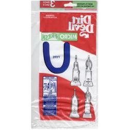 Microfresh Vacuum Bag Type U Fits Ultra Polybagged