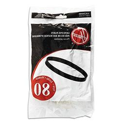 Hoover UH70100 Windtunnel T Series Style 80 Belts 2 Pk Genui