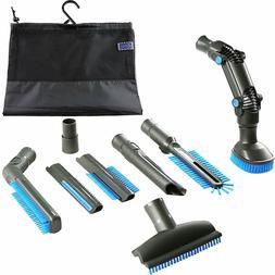 Vacuum Attachment Accessories Kit 8-Piece for ShopVac Shark