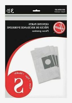 HOOVER Vacuum Bag Style S 3/PK 4010064S,White