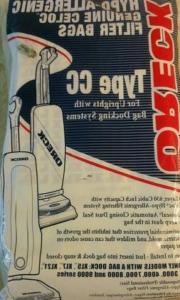Oreck Vacuum Bag Type Cc Fits Oreck Bagged 8 / Pack
