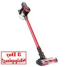 MOOSOO M Vacuum Cleaner 2 in 1 Cordless Stick Vacuum with St