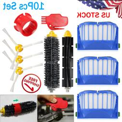 Vacuum Filter Brush Cleaner Replacement Parts for iRobot Roo