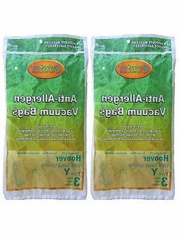 Hoover Vacuum Hepa Cloth Type Y Bags  3 Bags per Package