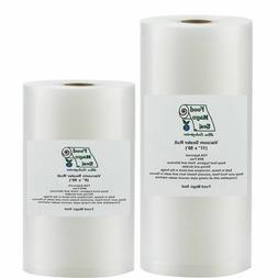 Vacuum Sealer Bags 1-8x50 & 1-11x50 Food Magic Seal for Food