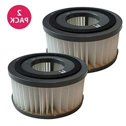 Crucial Vacuum Wasable Filters 2PK Fit ALL Dirt Devil Quick