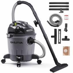 5 Gallon Wet/Dry/Blow Shop Vac Vacuum Cleaner 5.5 Peak HP 12