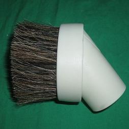 "White 1 1/4"" Universal Horse Hair Dust Brush Fit 1.25"" Attac"
